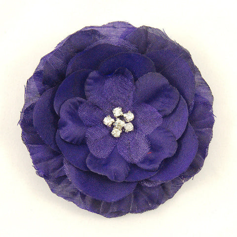Purple Buttercup Hair Flower by Cats Like Us : Cats Like Us
