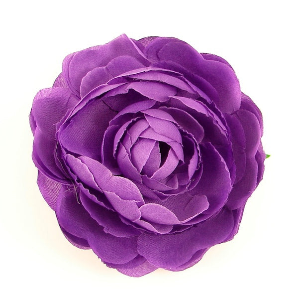Cats Like Us Purple Ranunculus Hair Flower for sale at Cats Like Us - 1
