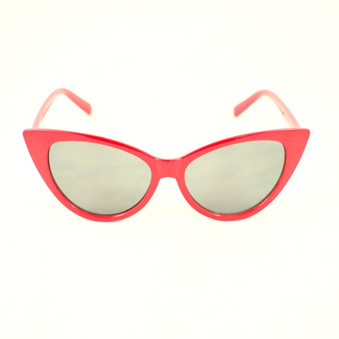 Red Classic Cateye Sunglasses - Cats Like Us
