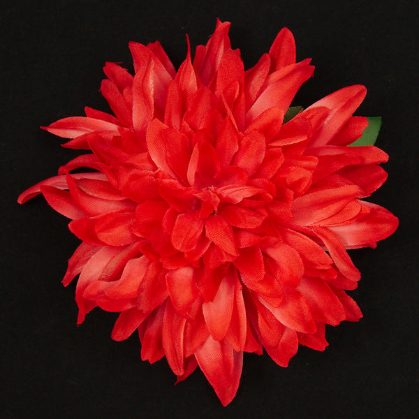 Red Dahlia Hair Flower by Cats Like Us : Cats Like Us