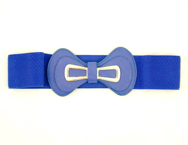 Royal Blue Glamour Cinch Belt by Cats Like Us : Cats Like Us