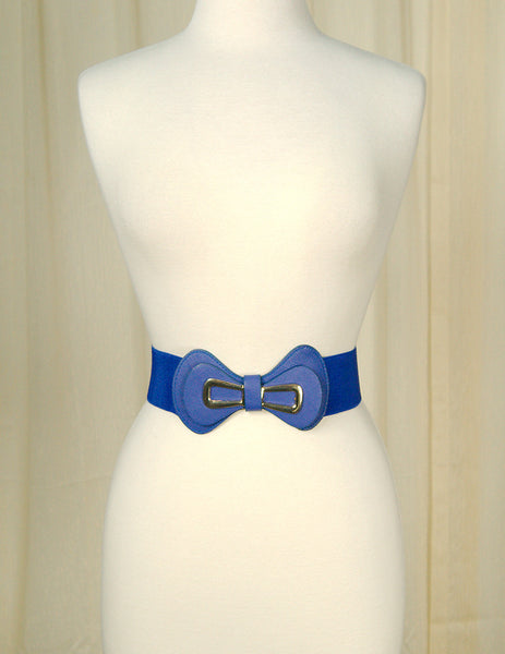 Royal Blue Glamour Cinch Belt