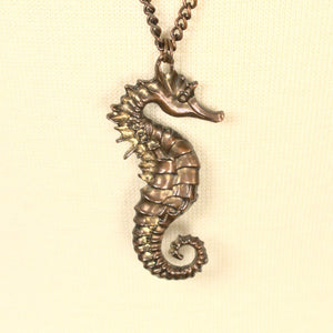 Seahorse Pendant Necklace - Cats Like Us