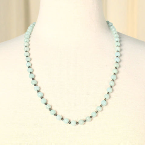 Semi Precious Stone Necklace - Cats Like Us