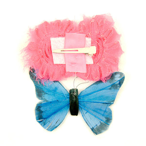 Cats Like Us Shabby Butterflies Hair Flower for sale at Cats Like Us - 2