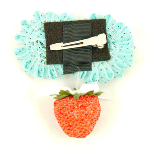 Cats Like Us Shabby Strawberry Hair Flower for sale at Cats Like Us - 2