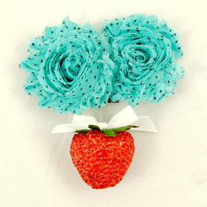 Cats Like Us Shabby Strawberry Hair Flower for sale at Cats Like Us - 1