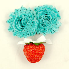 Shabby Strawberry Hair Flower