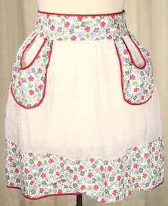 Sheer Loop Pocket Apron - Cats Like Us