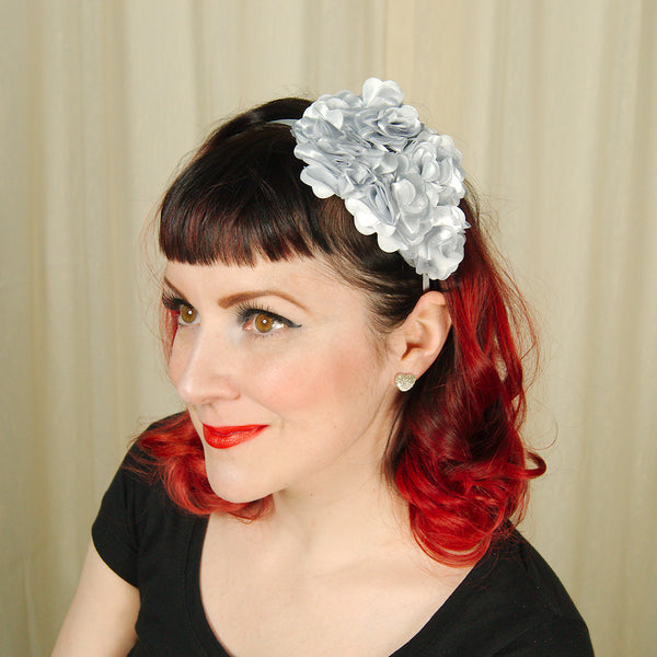 Silver Rosette Headband by Cats Like Us : Cats Like Us