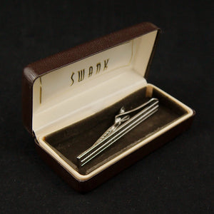 Silver Wide Tie Bar - Cats Like Us