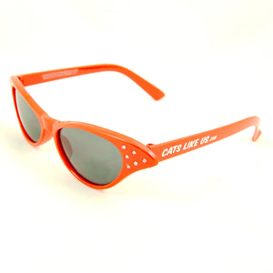 Siren Red CLU Sunglasses by Cats Like Us : Cats Like Us