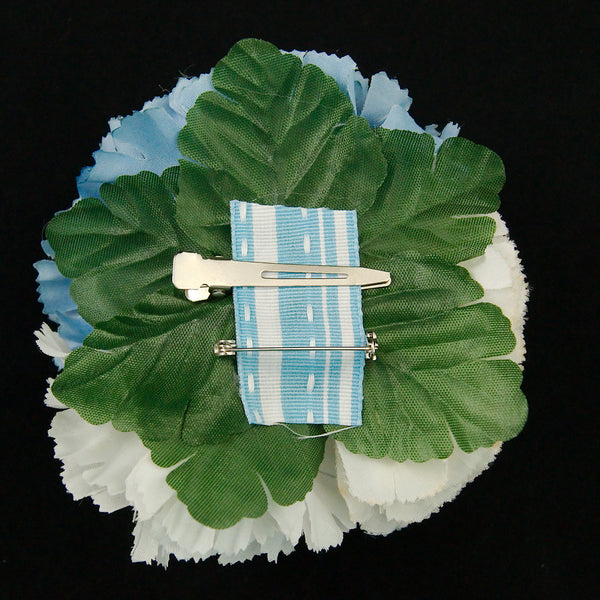 Cats Like Us Sky Blue Cluster Flower Pin for sale at Cats Like Us - 2