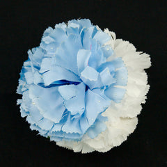 Sky Blue Cluster Flower Pin
