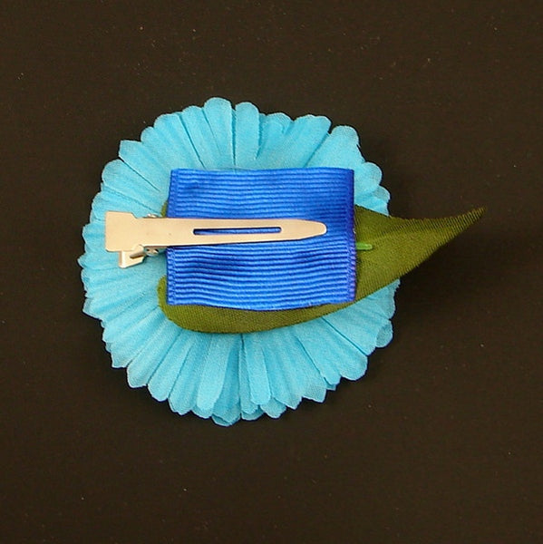 Cats Like Us Sky Blue Mini Daisy Hair Flower for sale at Cats Like Us - 2