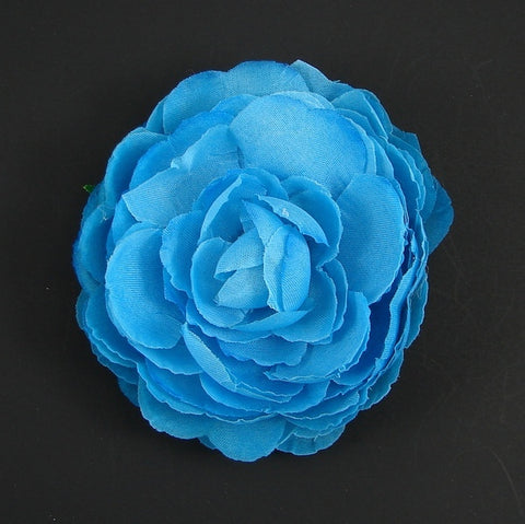 Sky Blue Ranunculus Flower by Cats Like Us