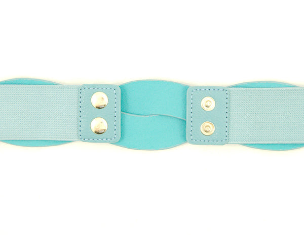 Cats Like Us Sky Blue Swirl Cinch Belt for sale at Cats Like Us - 3