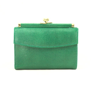 Small Emerald Green Wallet