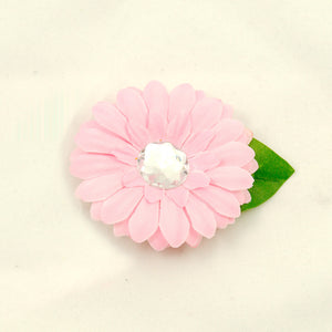 Cats Like Us Soft pink Mini Bling Flower for sale at Cats Like Us - 1