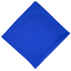 Solid Royal Cotton Bandana