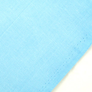 Solid Sky Blue Cotton Bandana by Cats Like Us : Cats Like Us