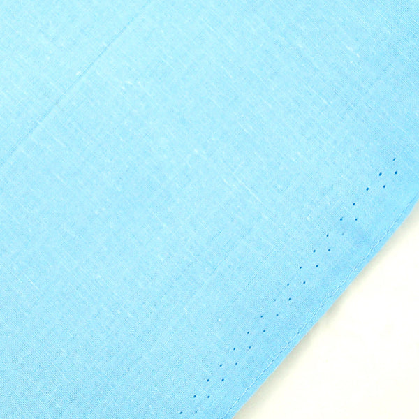 Cats Like Us Solid Sky Blue Cotton Bandana for sale at Cats Like Us - 2