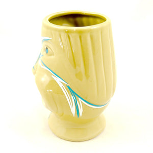 Spotted Nose Pinstriped Mug