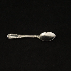 Sterling Spoon Brooch