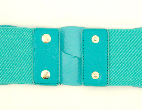 Cats Like Us Teal Swirl Cinch Belt for sale at Cats Like Us - 2