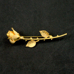 Thorny Gold Rosette Brooch - Cats Like Us