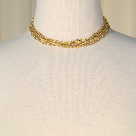Three Chain Necklace