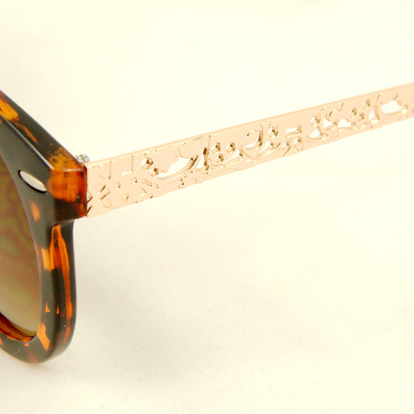 Cats Like Us Tort Gold Abstract Sunglasses for sale at Cats Like Us - 3
