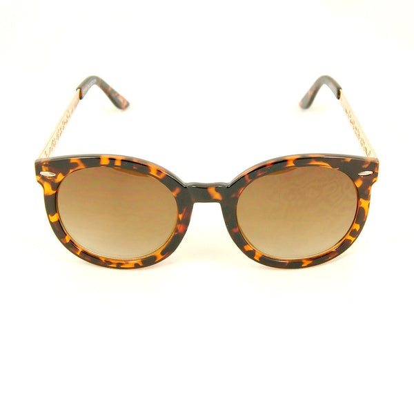 Cats Like Us Tort Gold Abstract Sunglasses for sale at Cats Like Us - 1
