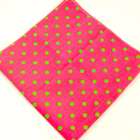 Watermelon Polka Dot Bandana by Cats Like Us : Cats Like Us
