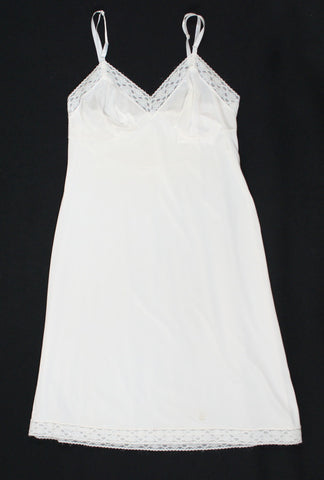 White Vintage Full Slip