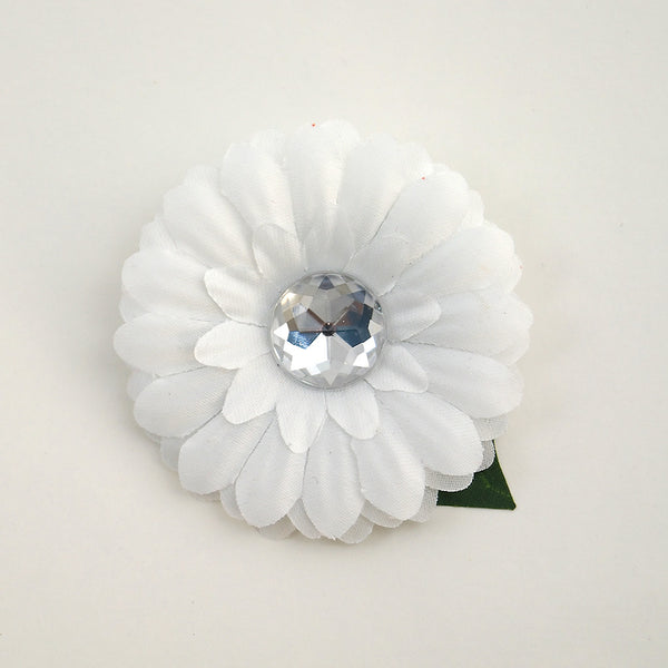 Cats Like Us White Mini Bling Daisy Flower for sale at Cats Like Us - 4