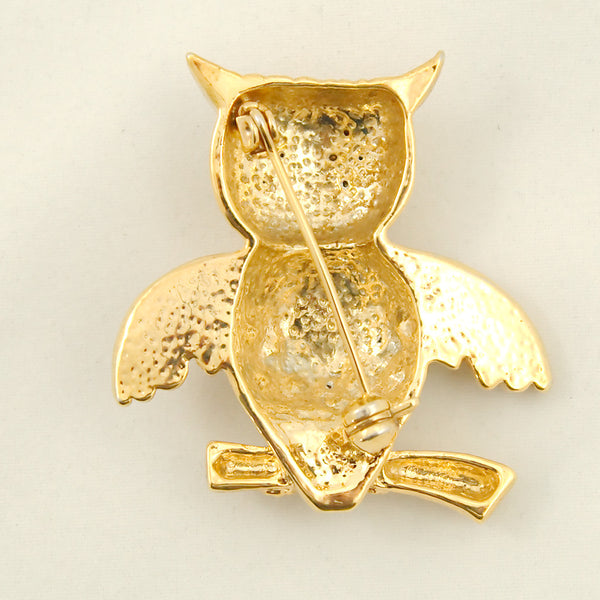 Cats Like Us Whoot Me Owl Brooch Pin for sale at Cats Like Us - 3