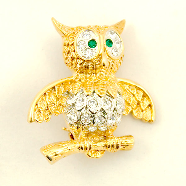 Cats Like Us Whoot Me Owl Brooch Pin for sale at Cats Like Us - 2