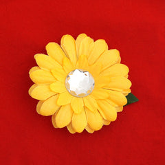 Yellow Mini Bling Daisy Flower