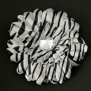 Zebra Daisy Hair Flower - Cats Like Us