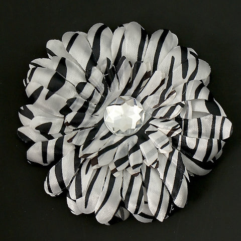 Zebra Daisy Hair Flower by Cats Like Us