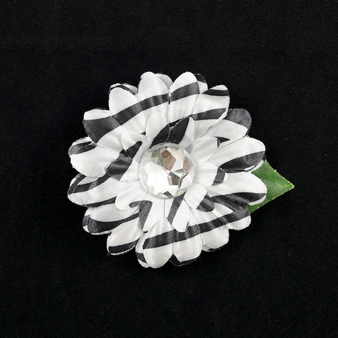 Zebra Mini Bling Daisy Flower - Cats Like Us
