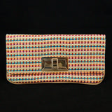 Collectif Candy Bobo Clip Clutch Handbag