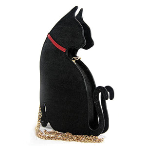 Black Cat Crossbody Bag by Comeco Inc - Cats Like Us
