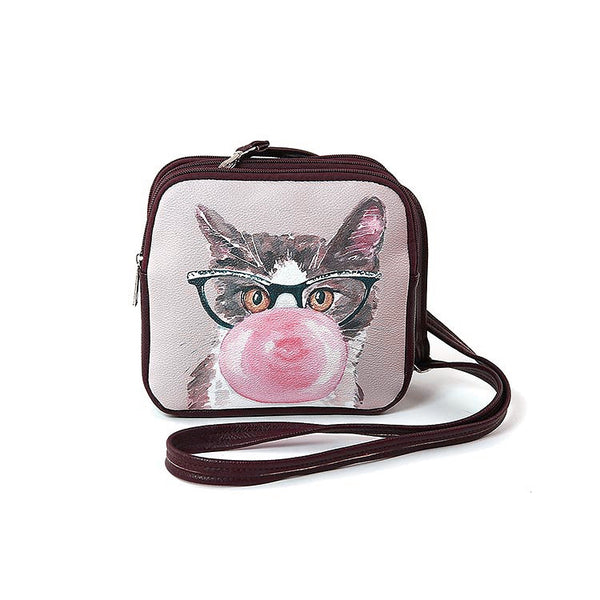 Bubble Cat Crossbody Bag - Cats Like Us