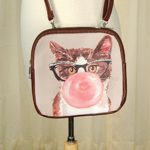 Bubble Cat Crossbody Bag