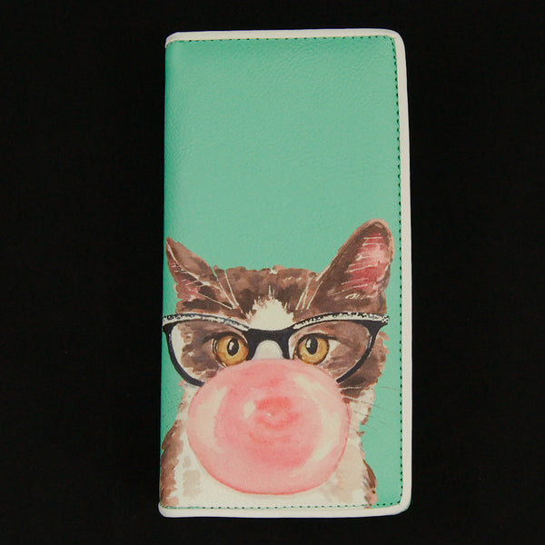 Bubblegum Kitty Cat Wallet - Cats Like Us