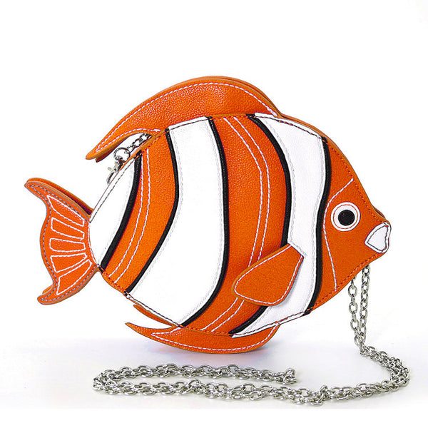 Clown Fish Crossbody Bag - Cats Like Us