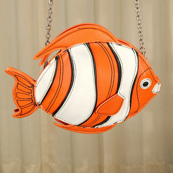Clown Fish Crossbody Bag by Comeco Inc : Cats Like Us