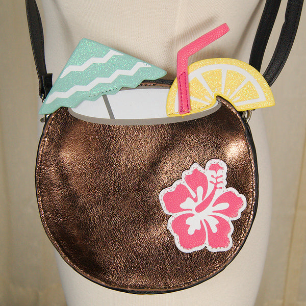 Coconut Tiki Drink Handbag